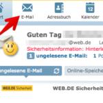 web-de E-Mail Spam-Filter Einstellungen 1
