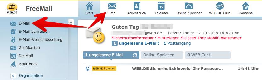 web de mail