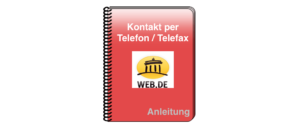 web-de Kontakt Telefon telefax