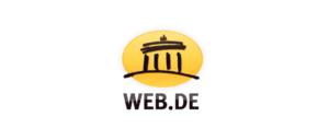web-de Logo