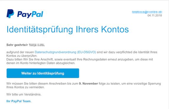 2018-11-04 PayPal Phishing
