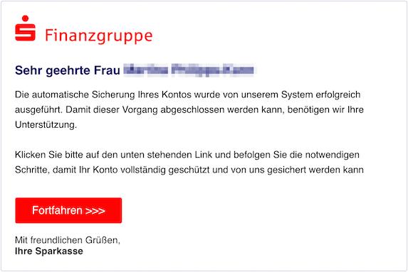 2018-11-18 Sparkassen Phishing