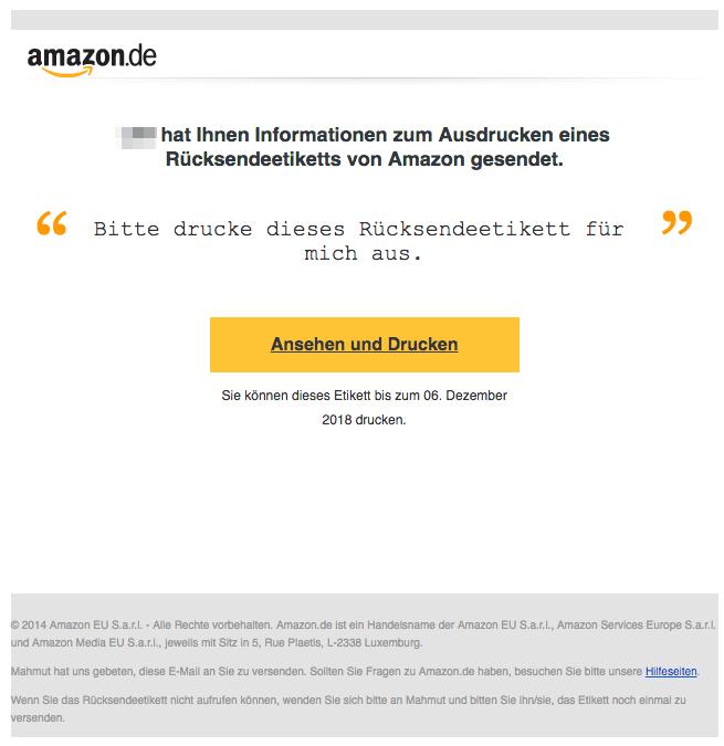 2018-12-07 Phishing Amazon Seller