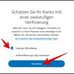 Anleitung PayPal Zwei-Faktor 4