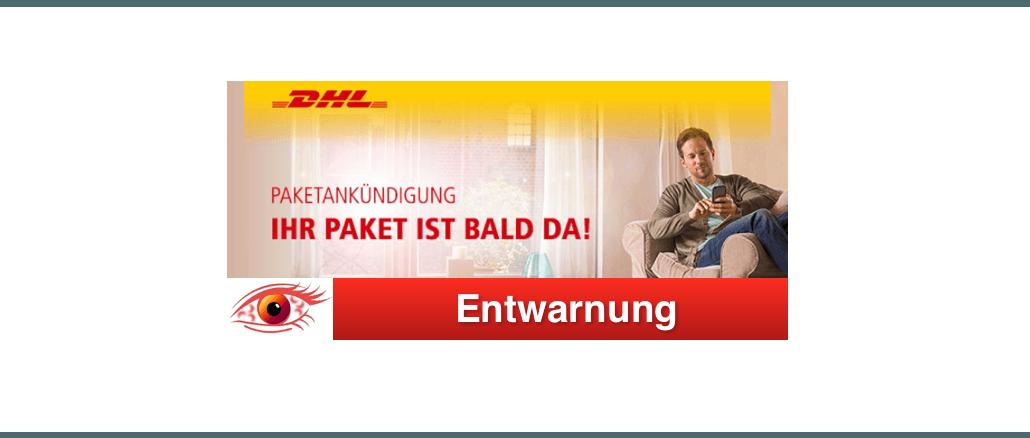 Entwarnung DHL-Mail hr DHL Paket kommt bald