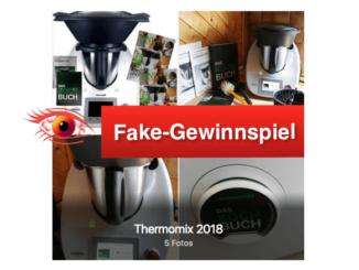 Facebook Fake Gewinnspiel Thermomix
