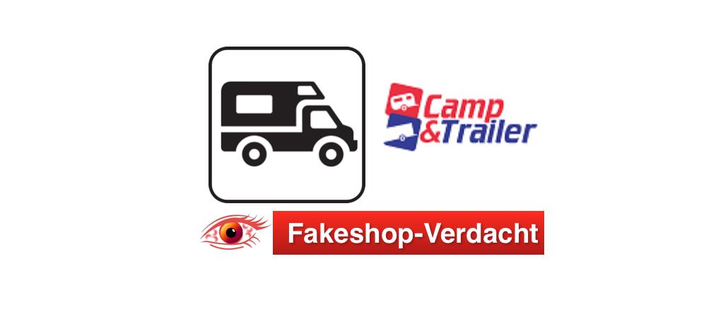 Fakeshop-Verdacht Onlineshop camptrailer24.de