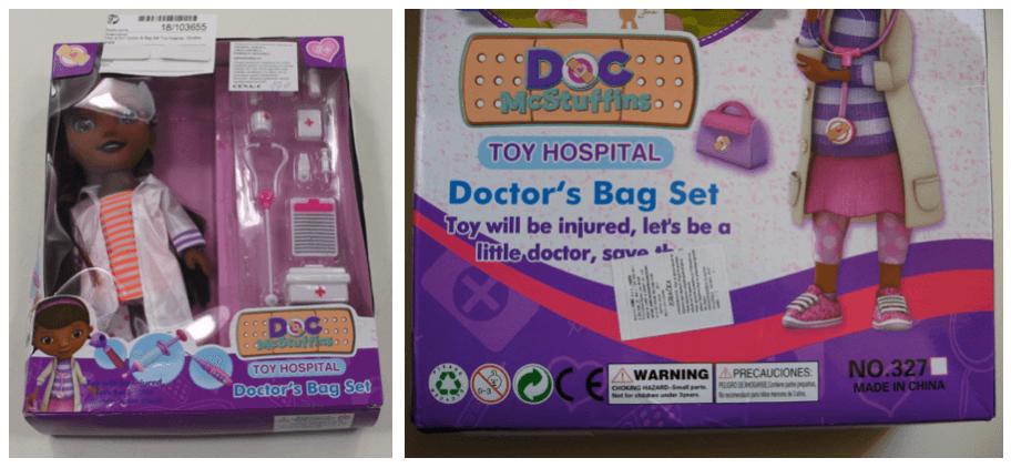 Rückruf Puppe Doktor