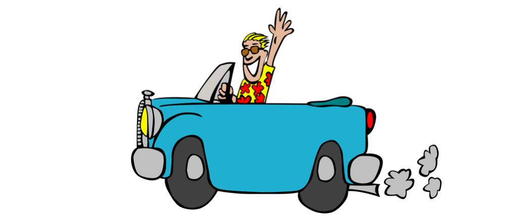 Symbolbild Auto fahren, Autofahrt