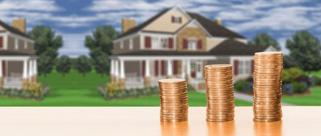 Symbolbild Geld Wohnung Haus Miete