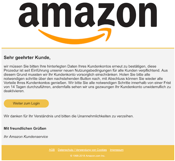 2018-12-04 Amazon Phishing