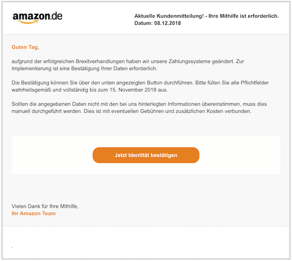 2018-12-09 Amazon Phishing