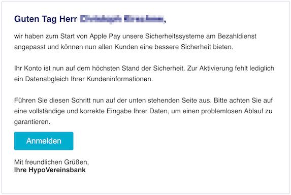 2018-12-12 HypoVereinsbank Phishing