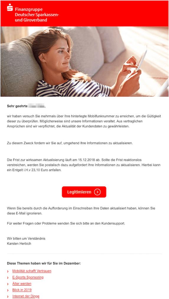 2018-12-12 Sparkasse Phishing