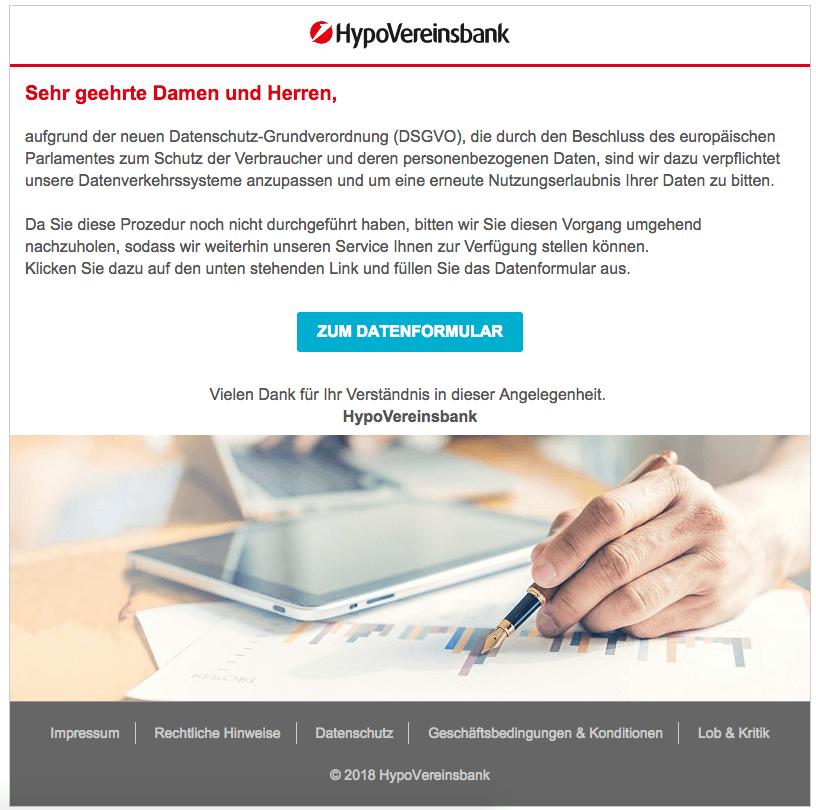 2018-12-20 HVB Hypovereinsbank Phishing