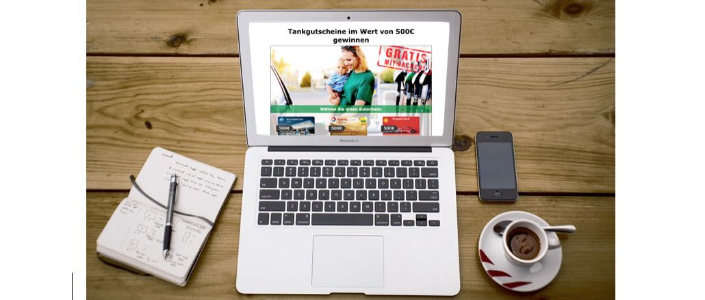 2018-12-28 E-Mail Gewinnspiel Tankgutschein 500 Euro Aral Total Shell