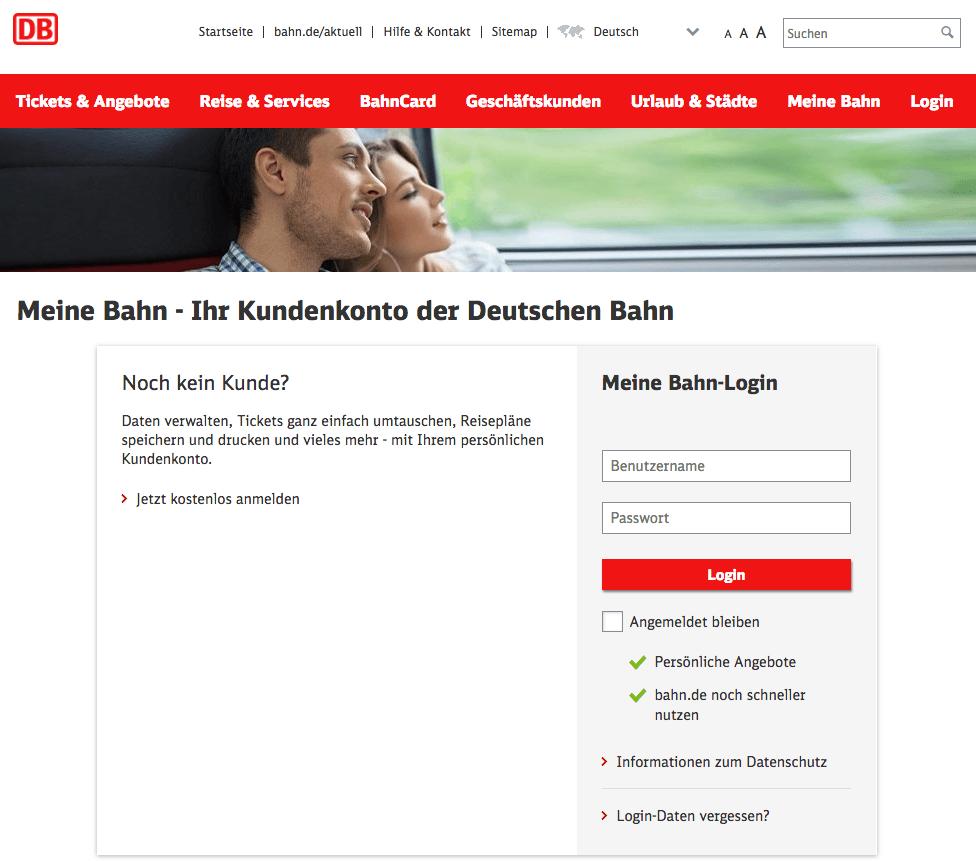 Deutsche Bahn Phishing