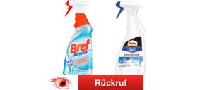Rückruf Henke BREF und PATTEX