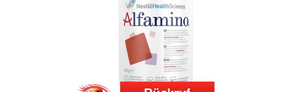 Achtung Eltern: Nestlé ruft Alfamino Spezialnahrung für Kinder zurück