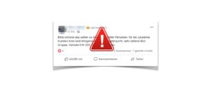 WhatsApp Facebook Kind Leukämie Aufruf Spender gesucht