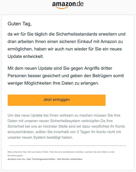 2019-01-06 Amazopn Phishing