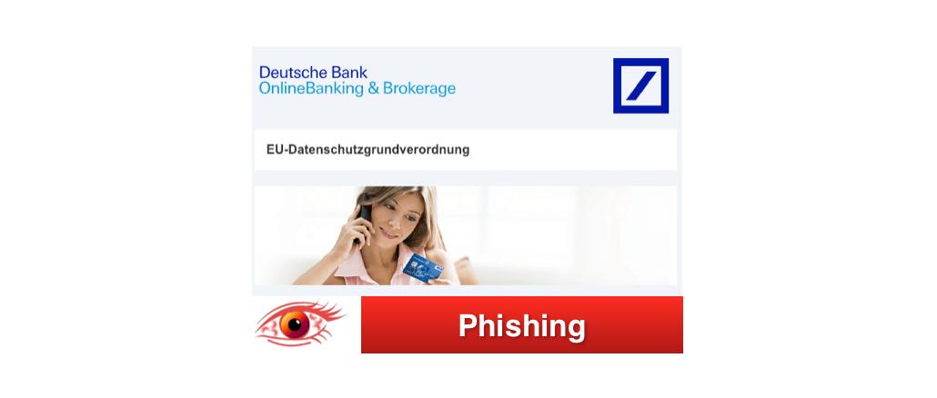 2019-01-11 Deutsche Bank Fake-Mail Spam Informationen zu Ihrem Bankkonto