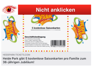 2019-01-14 5 kostenlose Saisonkarten Heide Park
