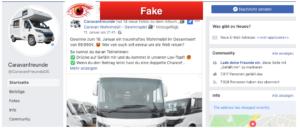 2019-01-14 Caravanfreunde auf Facebook verlost Wohnmobil im Wert 60000 Euro