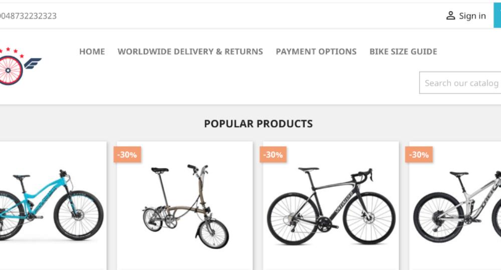 discounted.bike: Achtung Fakeshopverdacht!