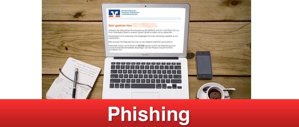 2019-01-25 Spam Mail Fake Volks- und Raiffeisenbanken Informationen zu Ihrem Bankkonto