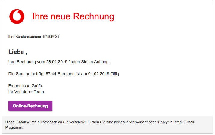 2019-01-29 Vodafone Mail Trojaner