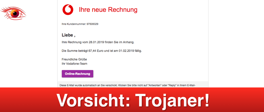2019-01-29 Vodafone Mail Trojaner_titel