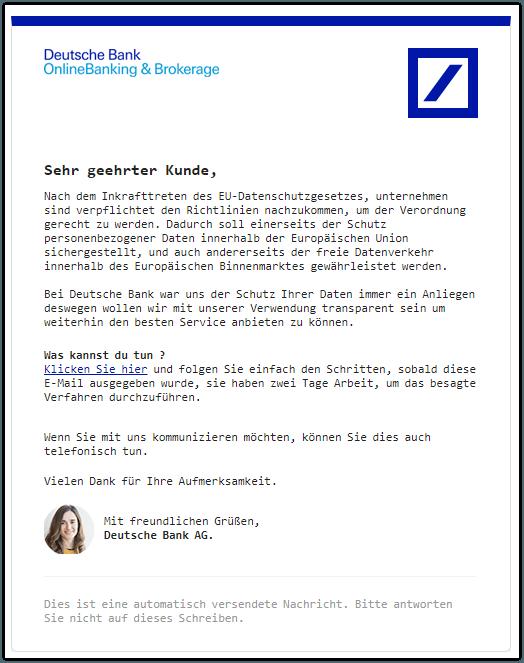 2019-02-12 Phishing Deutsche Bank