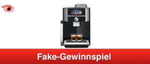 2019-02-18 Facebook Gewinnspiel Fake Siemens Kaffeevollautomat