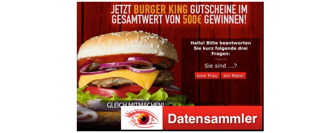 500 Euro Gutschein Burger King MyGimi_logo