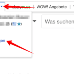 eBay Passwort ändern 1