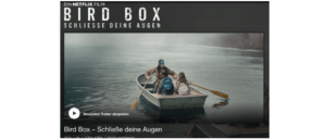 Birdbox Netflix Film