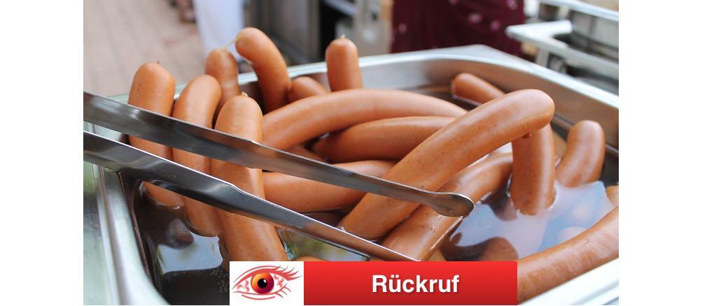 Bockwurst Wieder Symbolbild