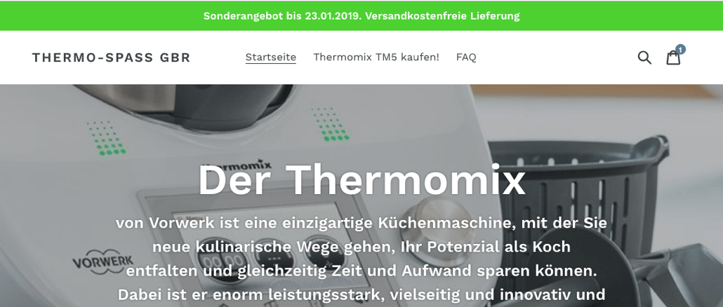 Fakeshop Thermo-Spass