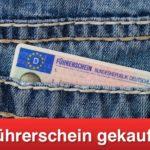 Führerschein gekauft im Internet - Strafen