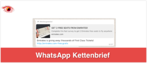 Kettenbrief Emirates kostenlose Tickets_logo