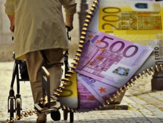 Symbolbild Rentner Geld