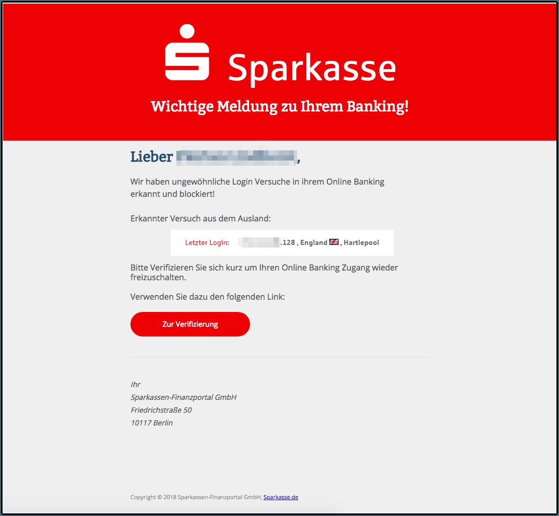 2019-02-13 Phishing Sparkasse