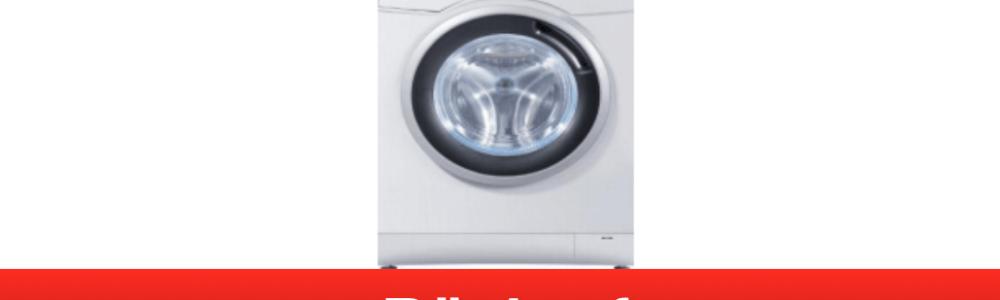 Haier: Brandgefahr bei einigen Waschmaschinen – Reparatur notwendig!