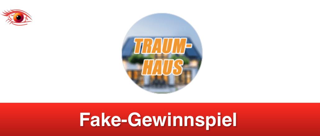 2019-02-18 Facebook Gewinnspiel Fake Traumhaus 2019