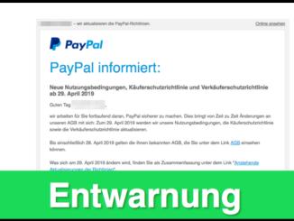 2019-02-18 PayPal Änderung AGB