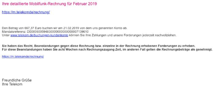 Telekom Rechnung Online Ansehen