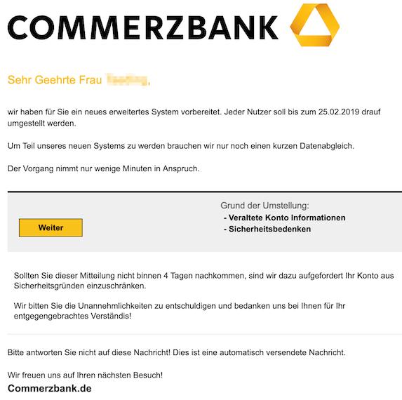 2019-02-23 Commerzbank Phishing