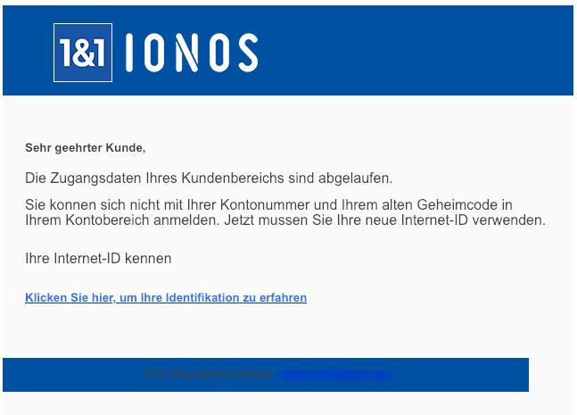 2019-02-25 1und1 IONOS Spam-Mail Sicherheitsupdate