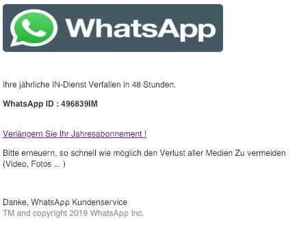 2019-02-28 WhatsApp Aktualisierung Vеrlaengеrn ѕіе іhг јаhrеѕbοnnеmеnt Whаtѕаρρ